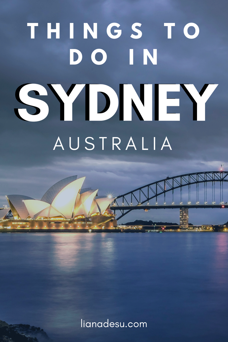 Sights in Sydney