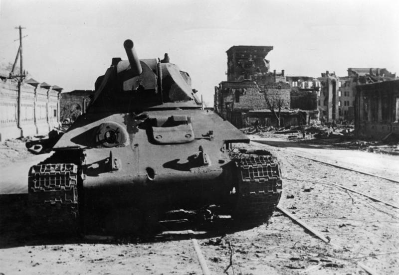 T-34, Stalingrad 1942