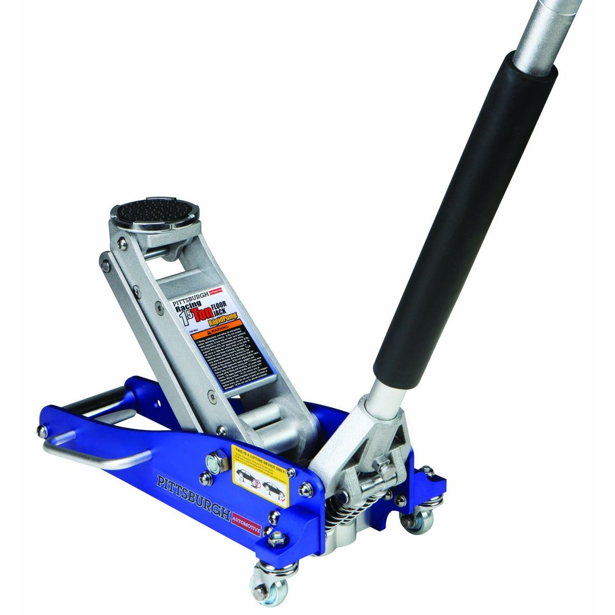 1 5 Ton Compact Aluminum Racing Jack With Rapid Pump 174 In
