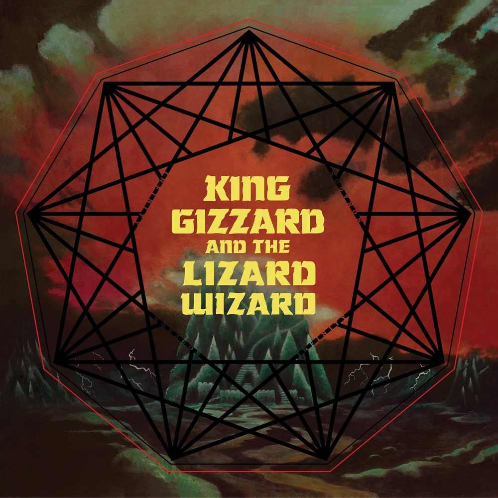 King Gizzard And The Lizard Wizard Album Covers And Promotional Material 2014 2019 Fonts In Use Psychedelic Rock Album Covers Album Art