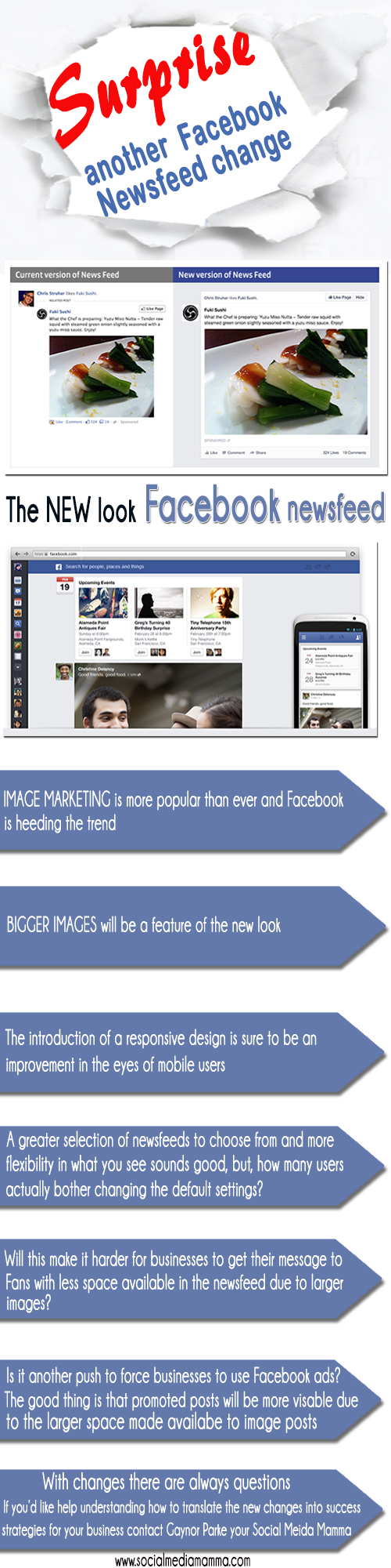 New Facebook Newsfeed feature March 2013 Social Meida Marketing ...