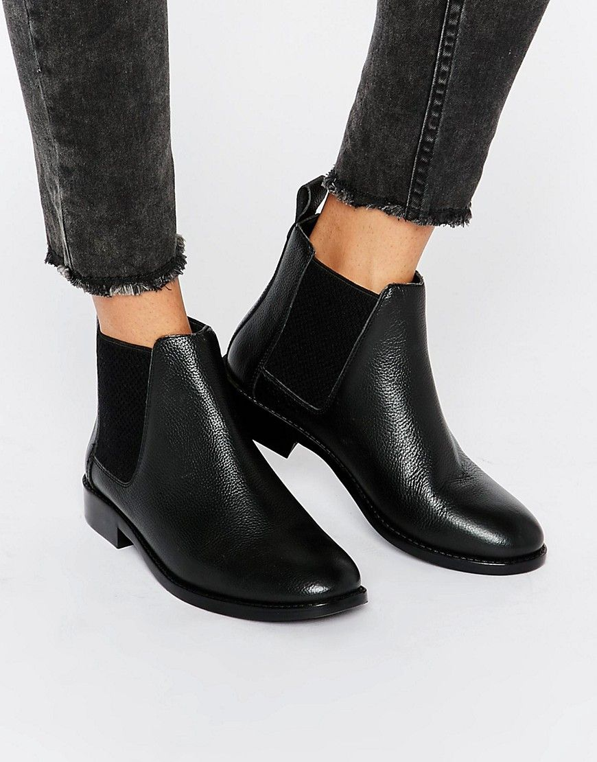 f6228dee6b7 Image 1 of Faith Binky Leather Chelsea Boots