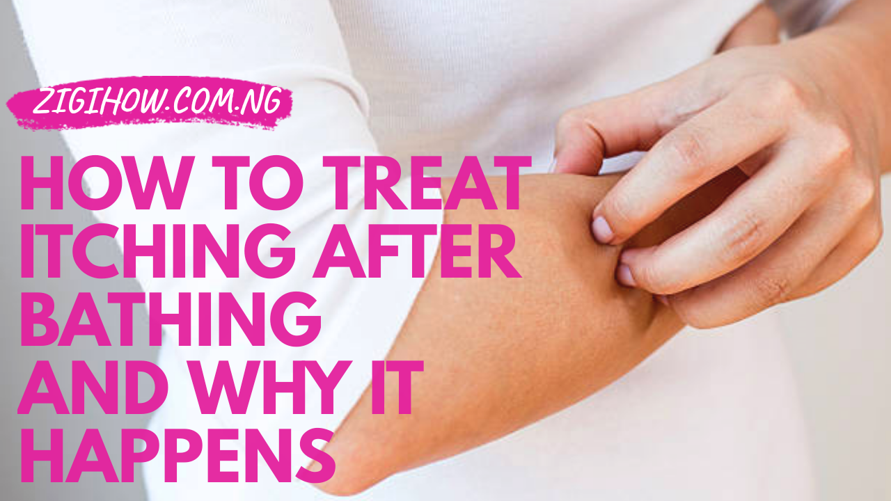 How To Treat Itching After Bathing And Why It Happens Soothe Itchy Skin Relieve Itchy Skin Itching Skin