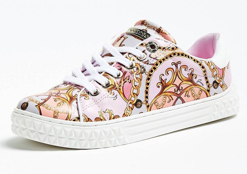 SNEAKERS LUISS LO CUIR VERITABLE GUESS Baskets Femme Guess