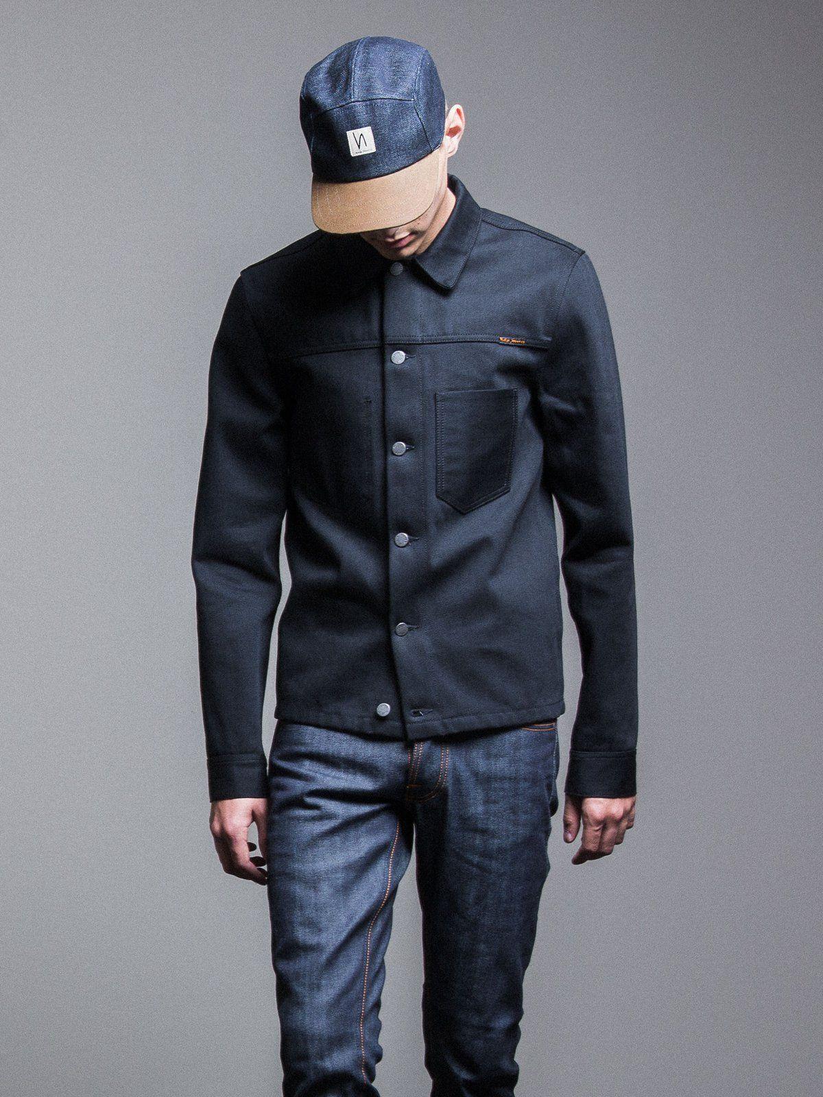 120f2ce63d8f Ronny Dry Black Selvage Denim - Nudie Jeans | Raw Denim | Nudie ...