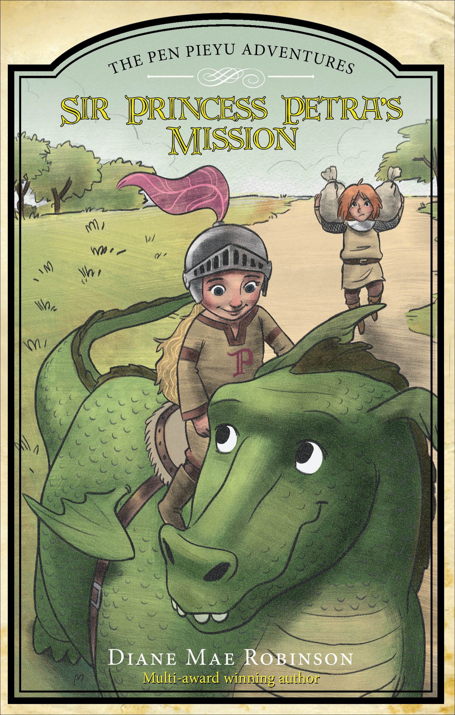 First Review Of Sir Princess Petra's Mission--Book 3 In The Muliti-Award Winning Children's Series.