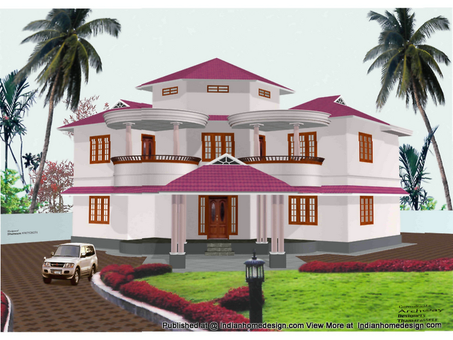 1 Beautiful Photos Of Indian Home Exterior Design 2 Violet N White