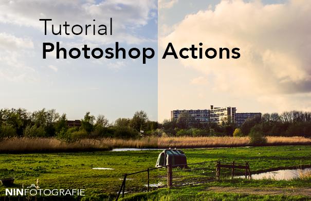 Tutorial   Photoshop actions ~ Nin Fotografie