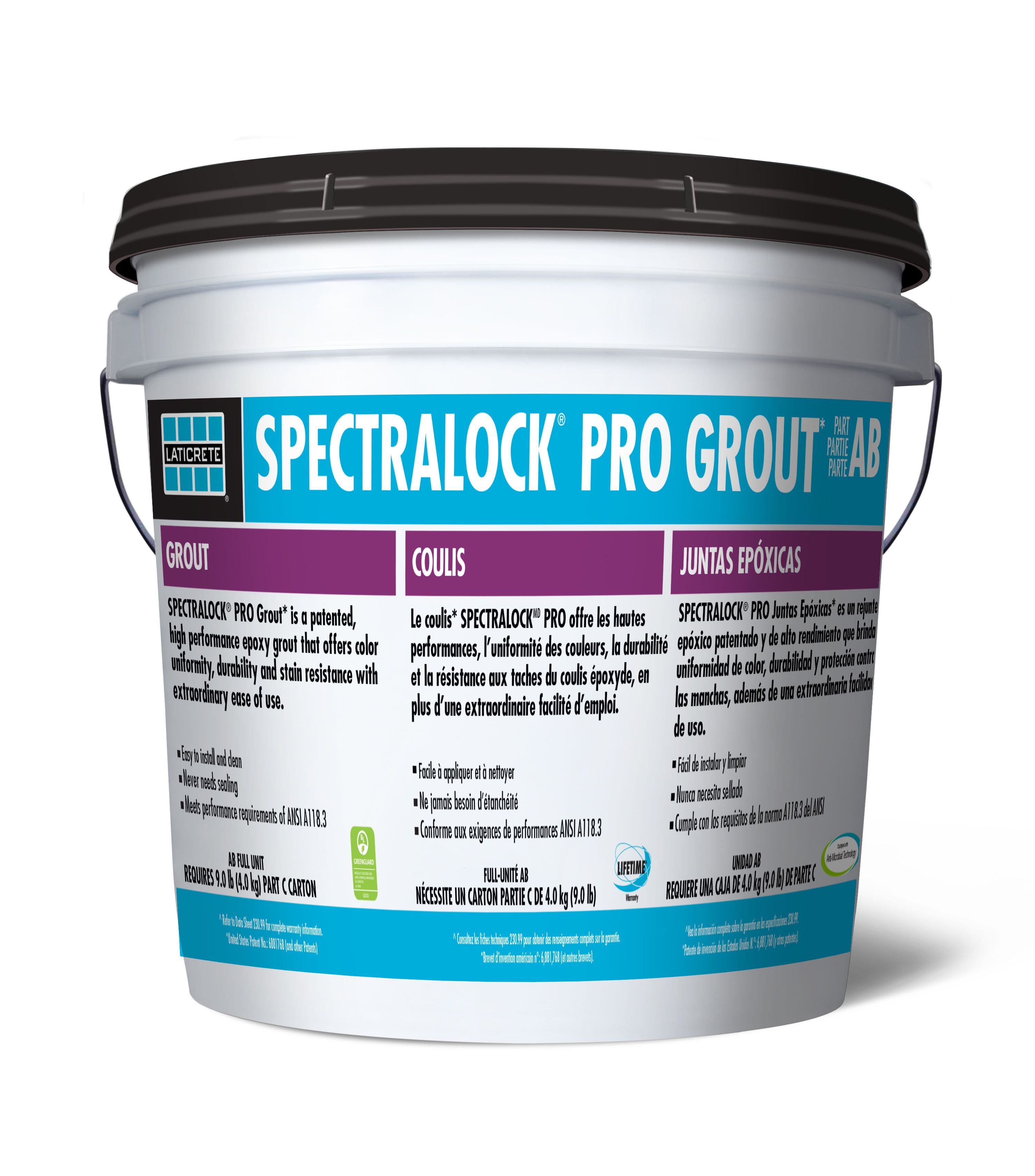 Laticrete Spectralock Pro Grout Is A Patented High Performance Epoxy Grout That Offers Color Uniformity Durability And Stain Resistan Epoxy Grout Grout Master Bath Remodel