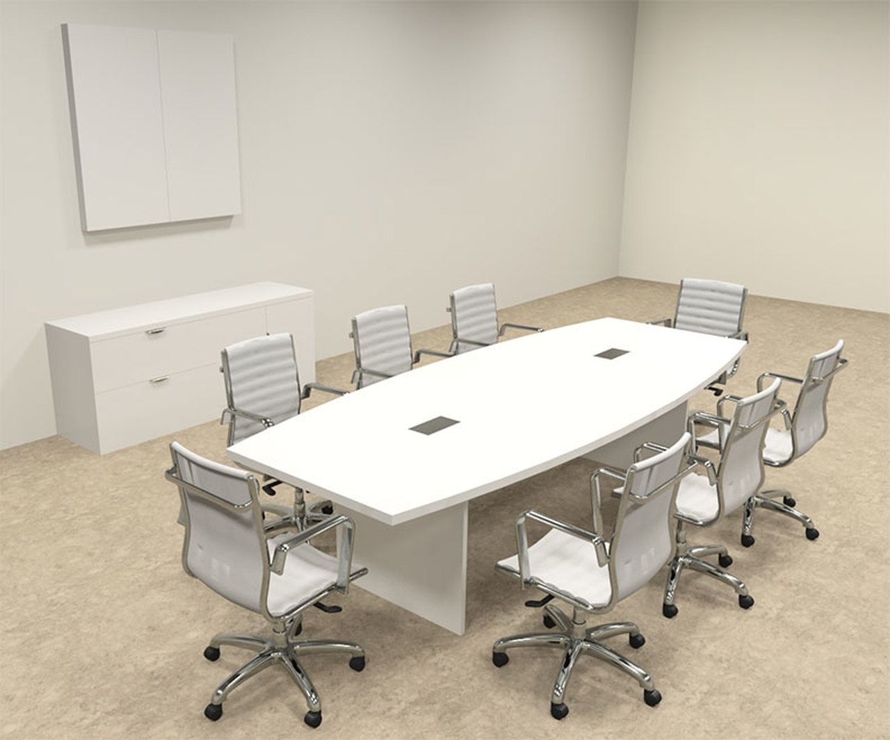 Modern Boat Shaped 10 Feet Conference Table Of Con C122 In 2020 Modern Conference Table Conference Table Office Furniture Design