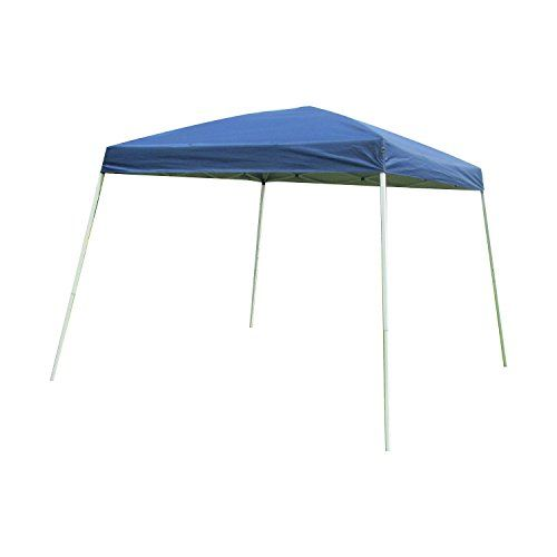 Hoddmimis Easy Pop Up Canopy Slant Leg Instant Tent 10 X 10 Ft Carry Bag Blue Review Https G Gazebo Tent Conversation Set Patio Wicker Patio Furniture Sets