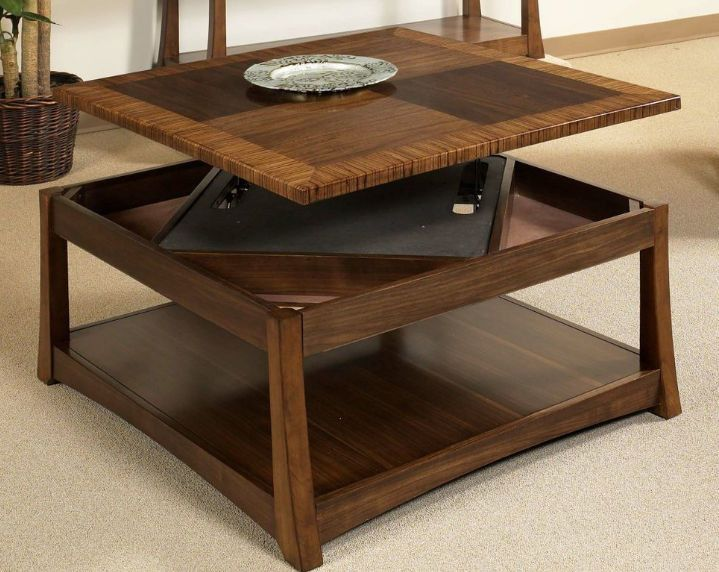 Andover Dual Coffee Table With Dual Lift Top Coffee Table Cool