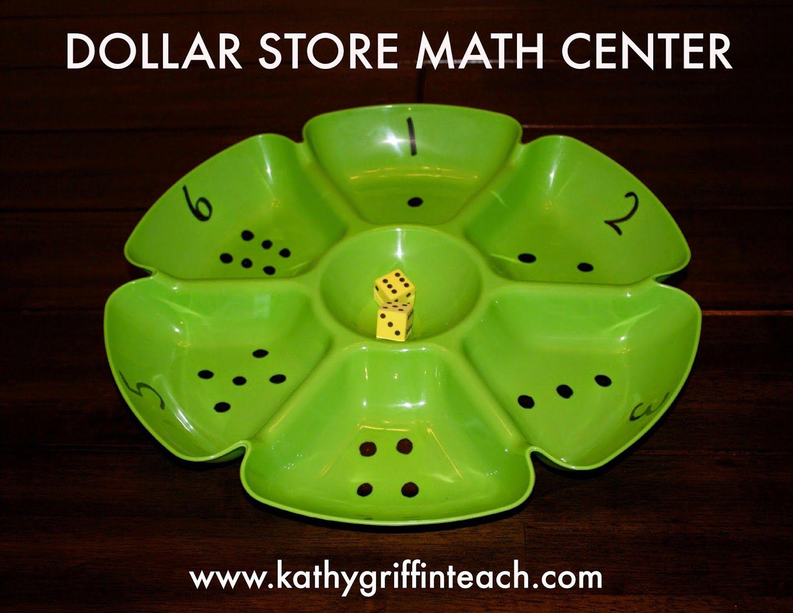 Dollar Store Math Center Kathy Griffin S Teaching