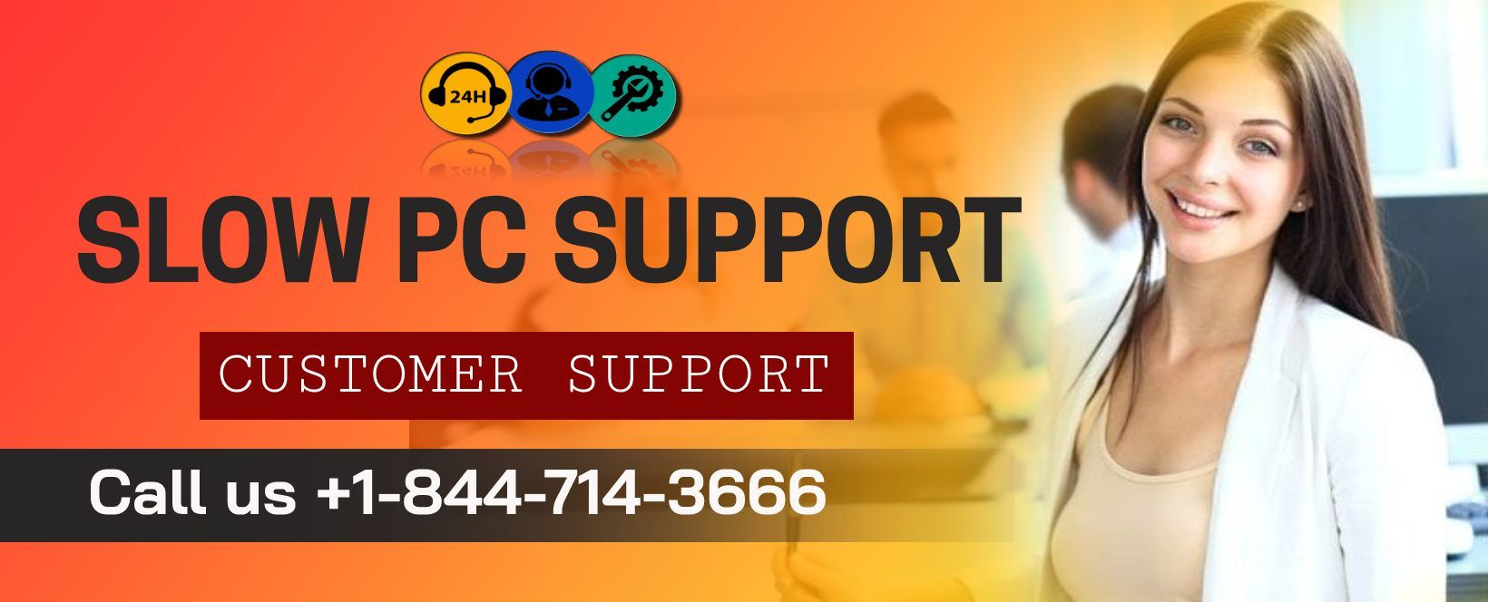 Slow PC technical support Number +18447143666 / Support