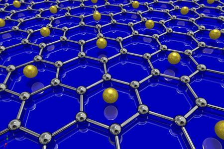 superconducting graphene sample coated it with lithium atoms