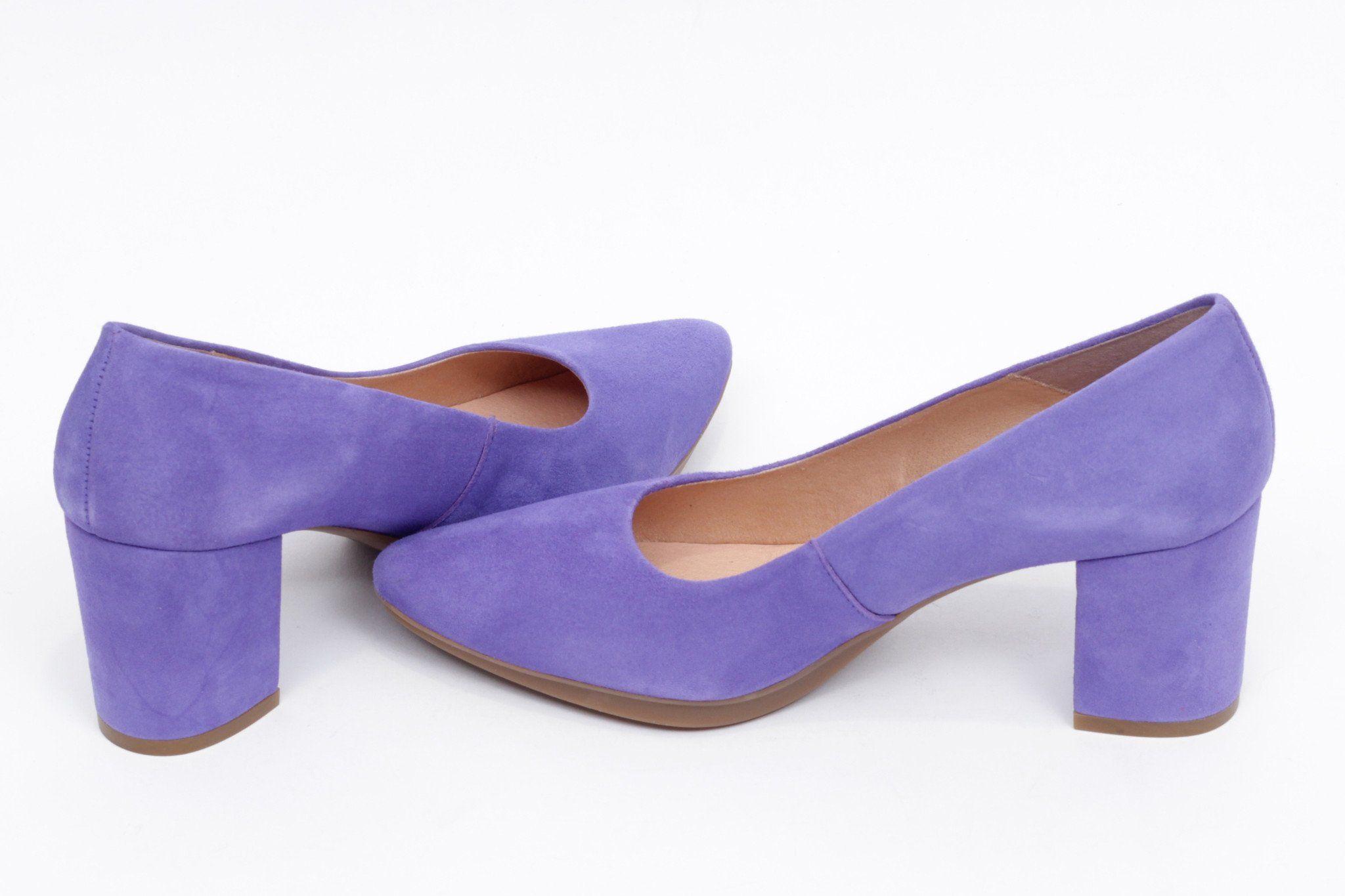 4a0ae48ef miMaO Urban S Amatista - Zapato mujer de tacon salon vestir maquillaje  cómodo - women high heels shoes blue comfort pumps