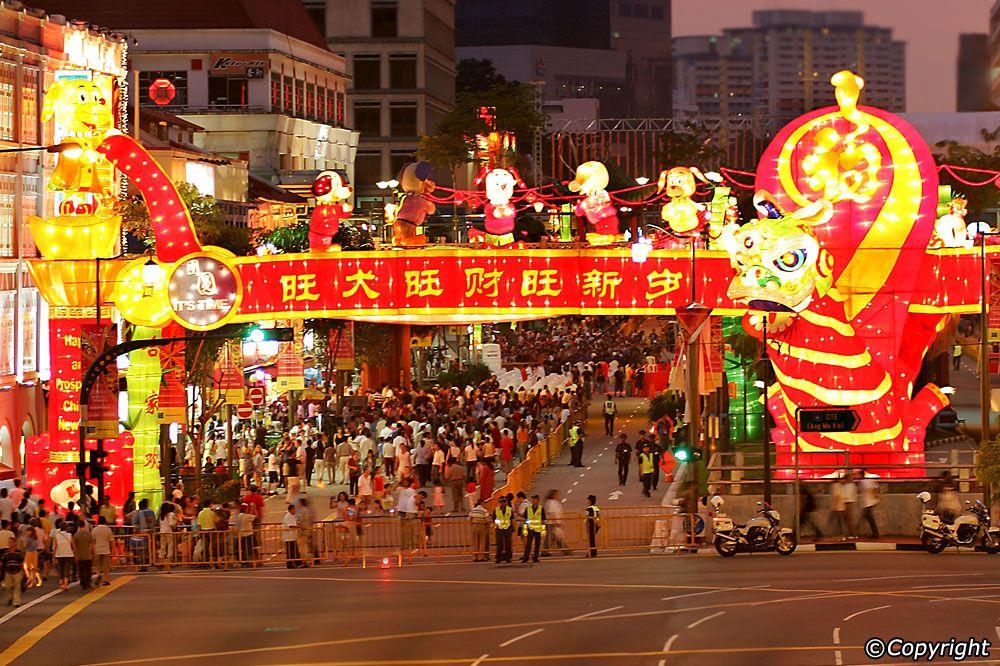 Chinese New Year in Singapore Chinese new year, Chinese