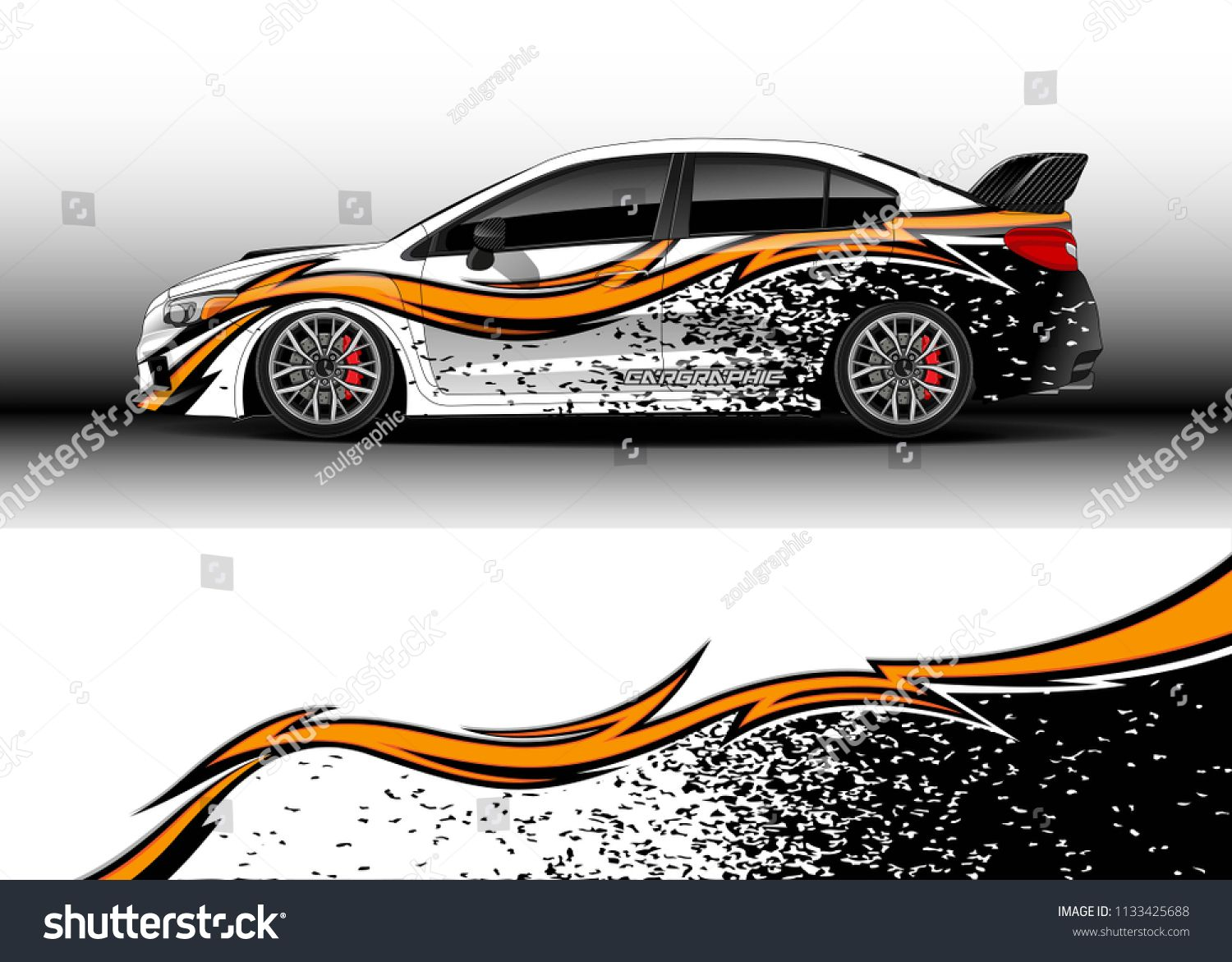 Car Decal Truck And Cargo Van Wrap Vector Graphic Abstract Stripe Designs For Drift Livery Car Advertisement And Branding Truck Cargo Van Wrap Cool Cars [ 1171 x 1500 Pixel ]