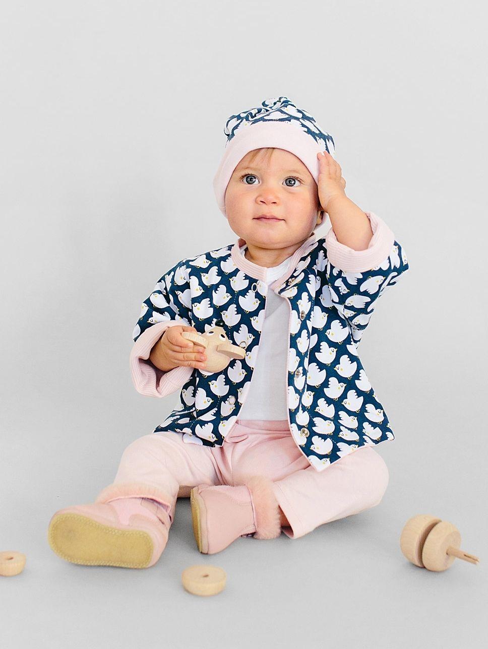 kostenlose Anleitung für eine Babymütze von Burda | Sewing for Babys ...