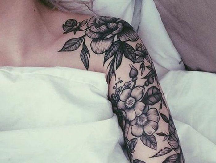 1001 Dessins De Tatouage Fleur Et Leurs Significations This