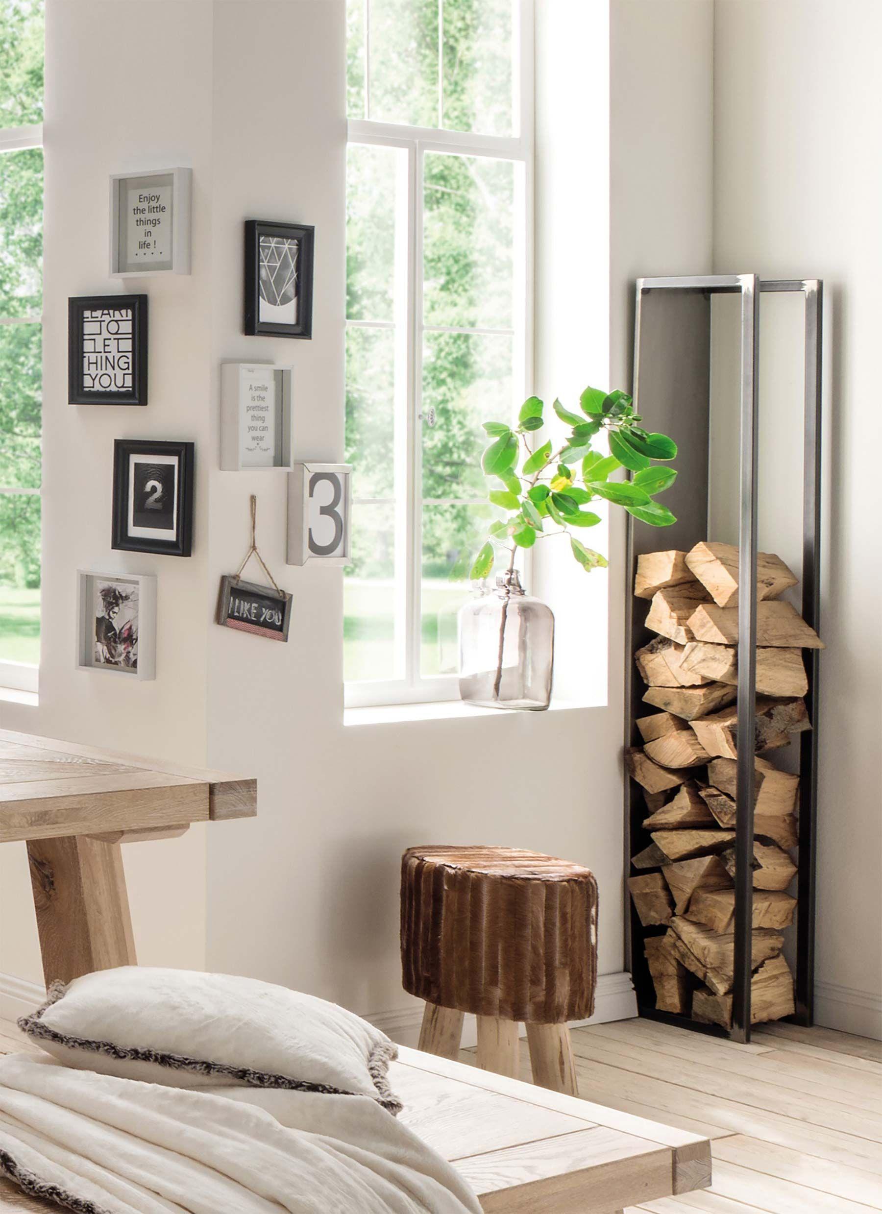 Range Buches Interieur 27 Idees Deco Pour Stocker Votre Bois Idee Deco Range Buche Interieur Deco Maison