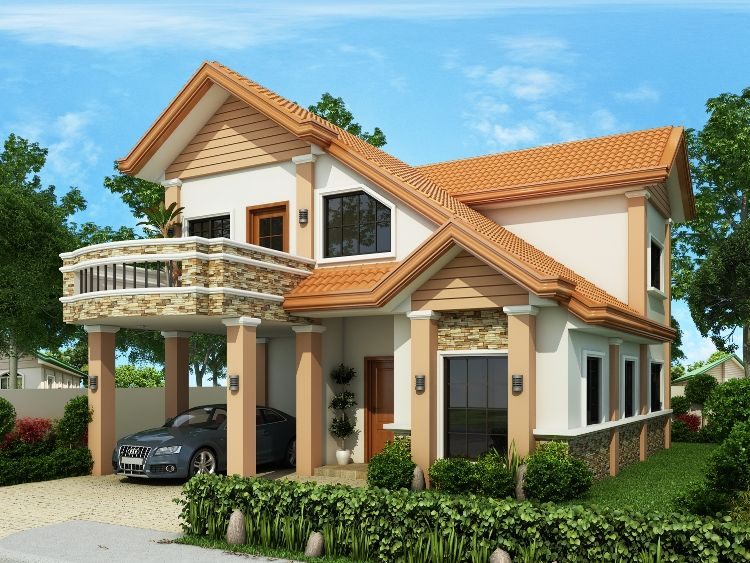 Modern house design series mhd 2014013 pinoy eplans for Eplans modern homes