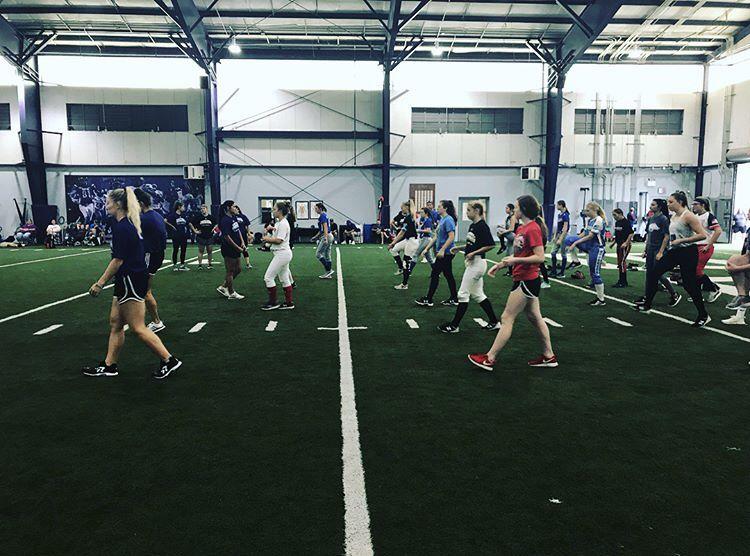 High Level Throwing Clinic University Of Central Arkansas Softball Training Softball Team Softball