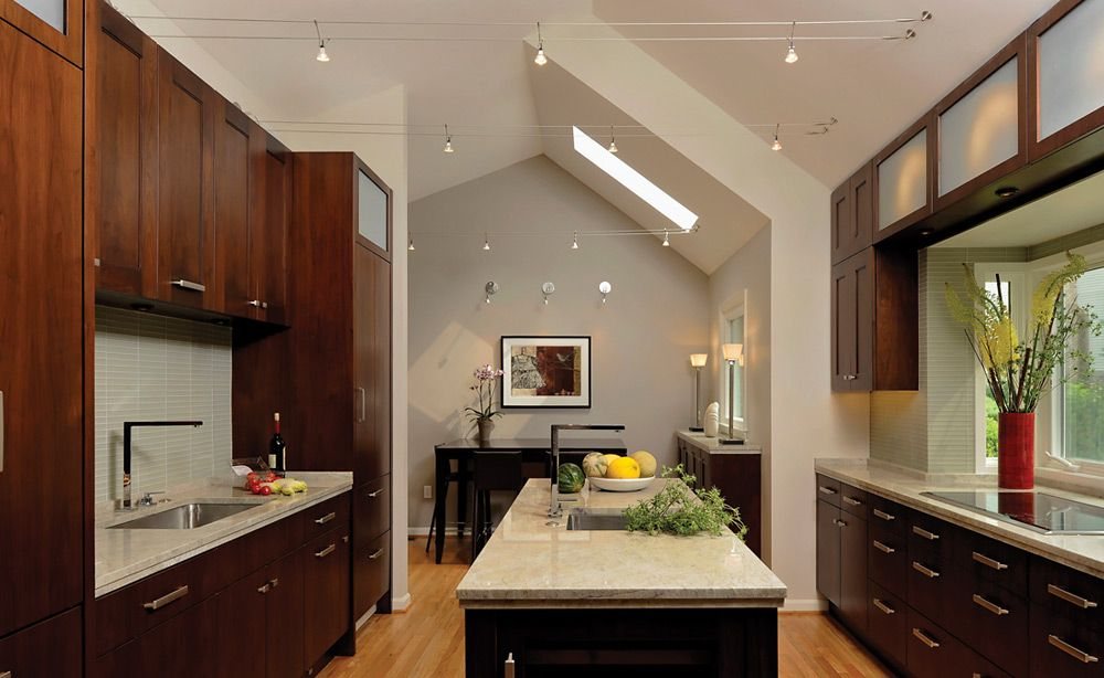Interior lighting modern kitchen track lighting ideas for vaulted ceiling kitchen lighting ideas brighten your kitchen to be more appeal