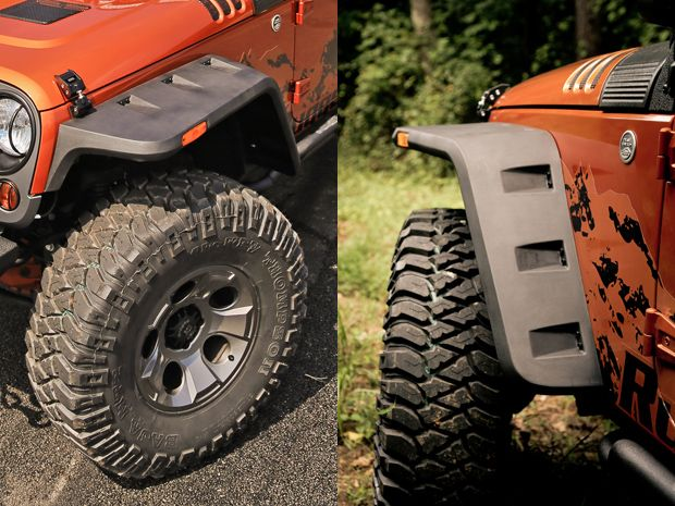 Rugged Ridge Expands Line Of Vintage Inspired Fender Flares For Jeep Wranglers Jeep Jeep Wrangler Accessories Jeep Wrangler