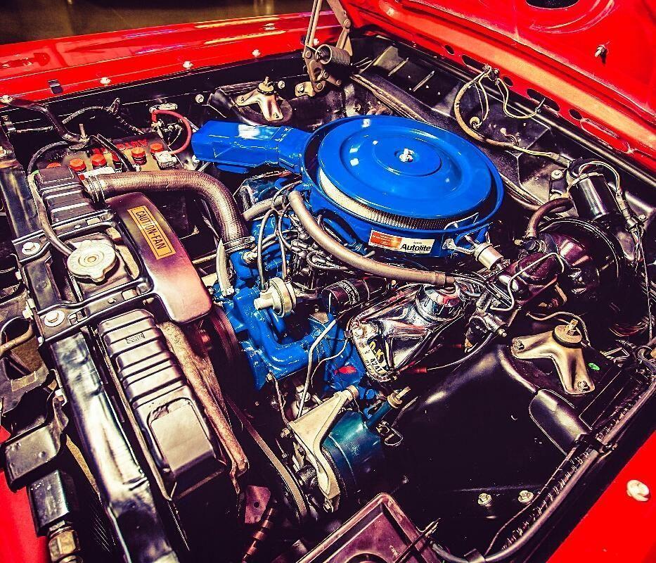 1969 Ford Torino Cobra Indian Fire Red 428 Cobra Jet V8 Classic