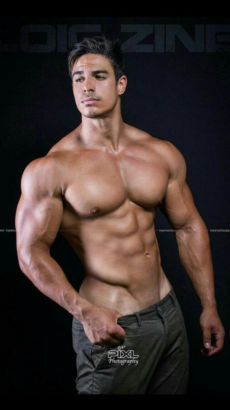 Male Muscle Hunk  Aesthetics Of Man In 2019  Muscular -8846