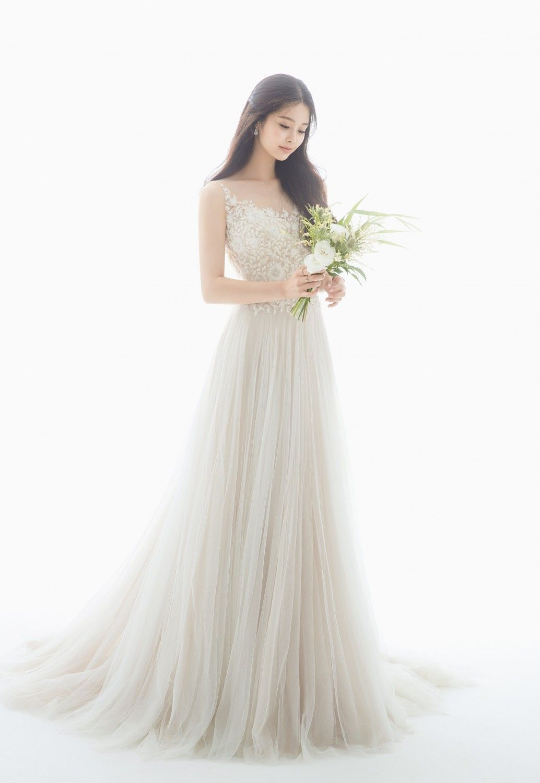 TrouwjurkVintage in 15  Weiße hochzeitskleider, Koreanische