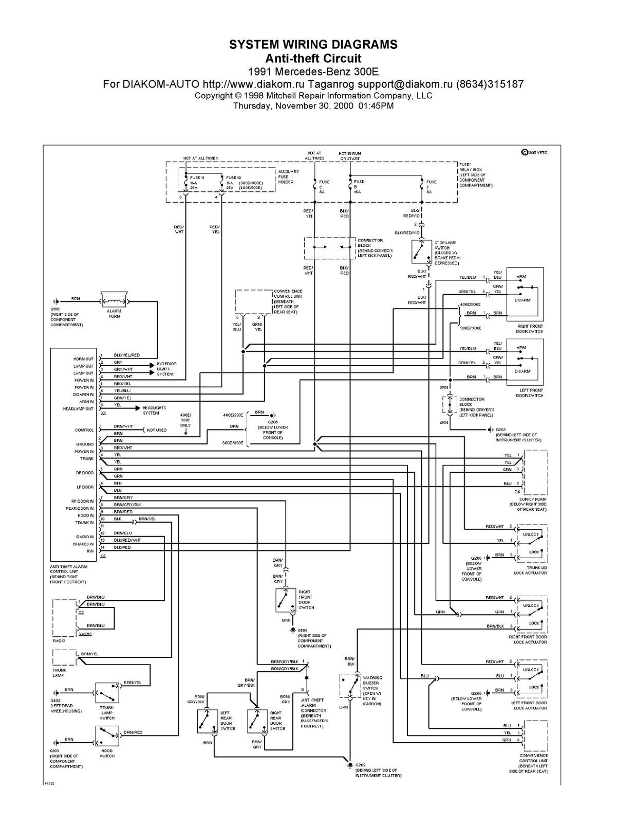Unique W211 Amplifier Wiring Diagram