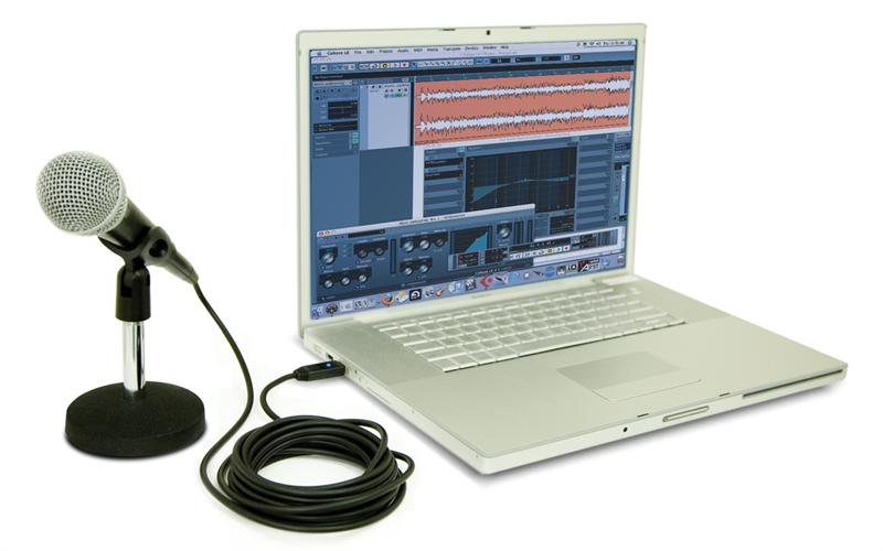 MicLink AudioLink Seri XLRkeUSB Cable Merekam mikrofon