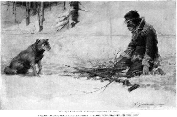 London To Build A Fire To Build A Fire Jack London Art Of Manliness
