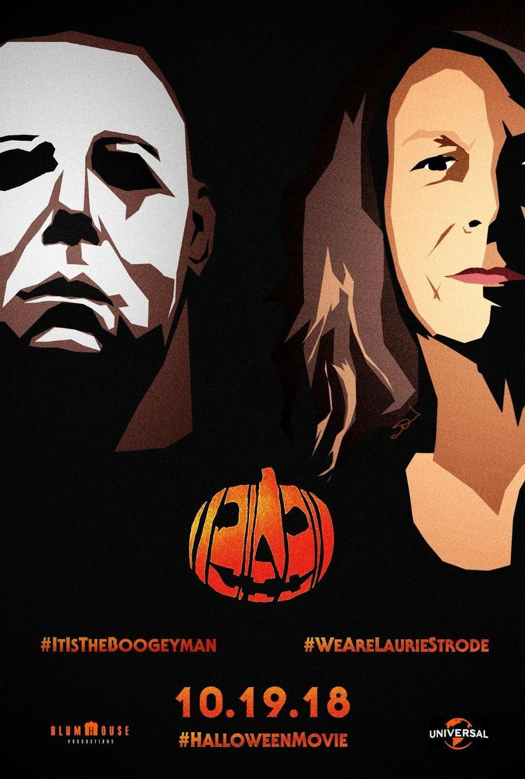 Halloween (2018) Halloween film, Fan poster, Halloween