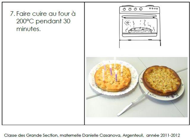 site internet de l 39 cole maternelle danielle casanova le g teau au yaourt et aux pommes. Black Bedroom Furniture Sets. Home Design Ideas