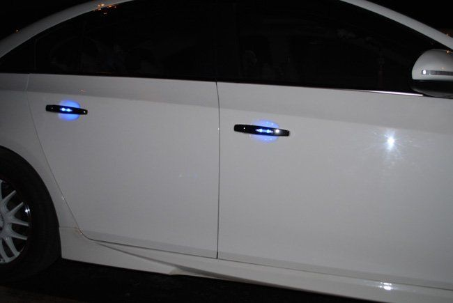 New Place For A Car Led Light Led Door Handles Auto