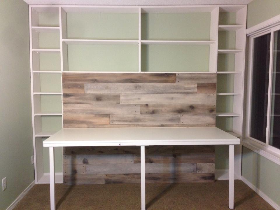 Murphy Bed Desk Is Done Bedroom Ideas Pinterest