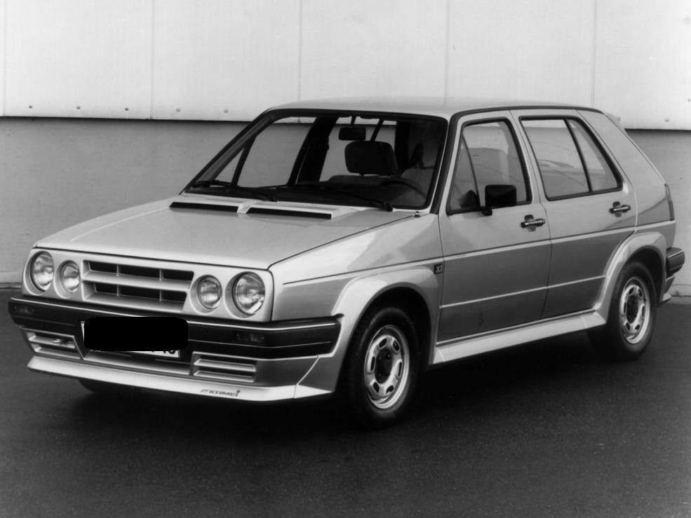 Vw Volkswagen Golf 2 Mk2 3 5 Doors Kamei Look Full Body Kit 5 Jetta A2 Autos