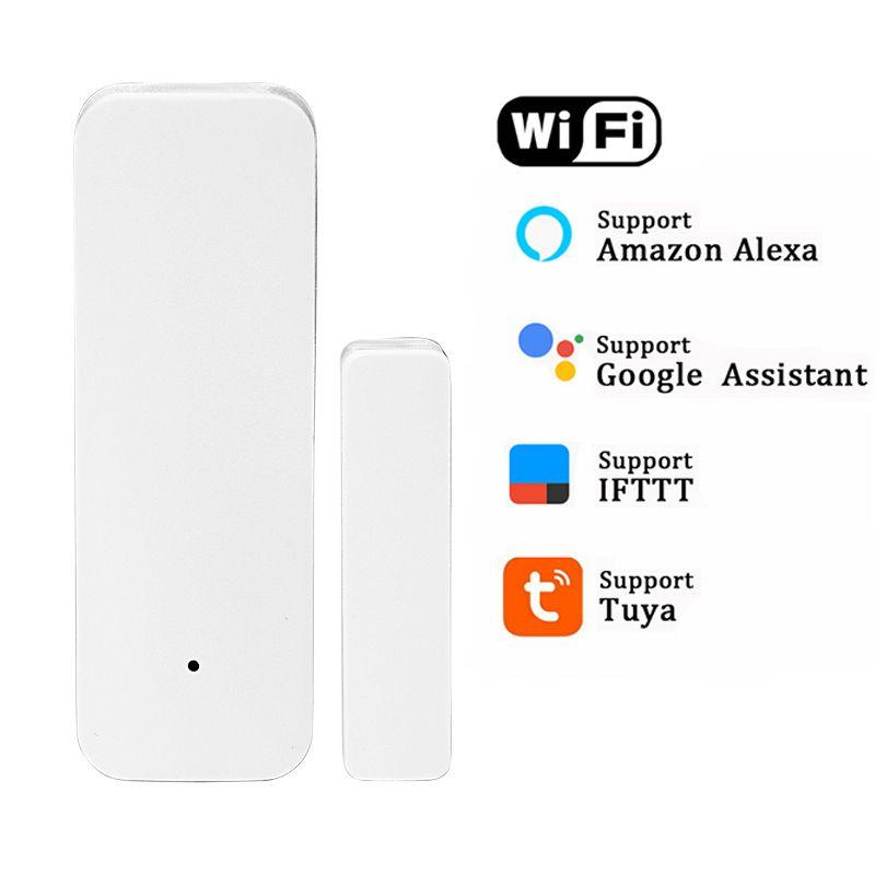 Smart Tuya Wifi Door Sensor Door Open Closed Detectors Wifi App