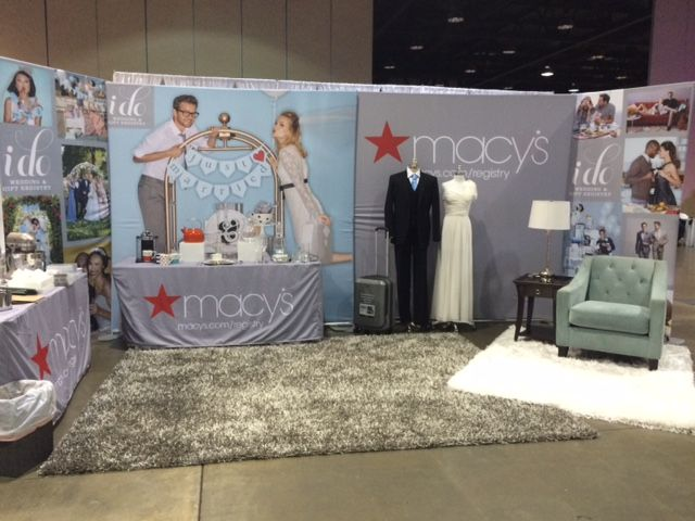 Macy's at Southern Bridal Show in Birmingham 1/10/16
