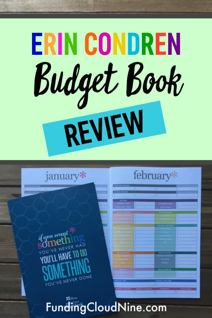 erin condren budget book review is it right for you everything