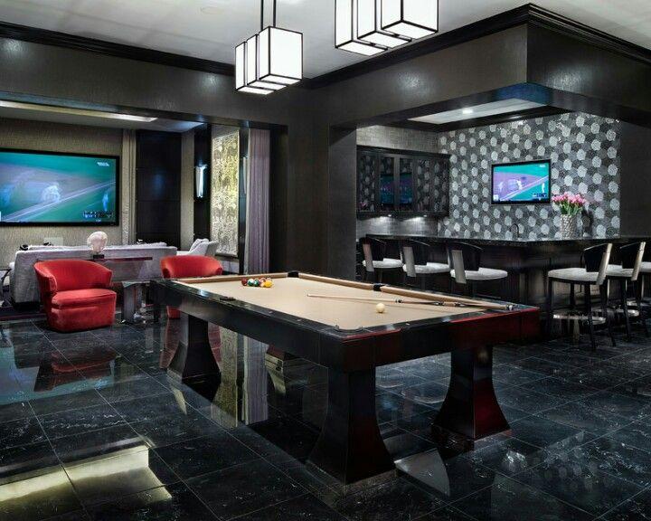 Luxurious Mancave Via Houzz Com Man Cave Home Bar Modern