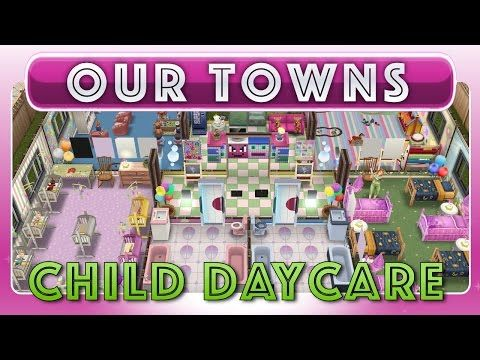 Sims FreePlay - Child Daycare Center (Original House Design - best of blueprint maker sims 3