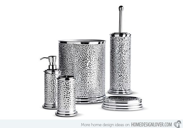 15 Trendy Modern Bathroom Accessories Set