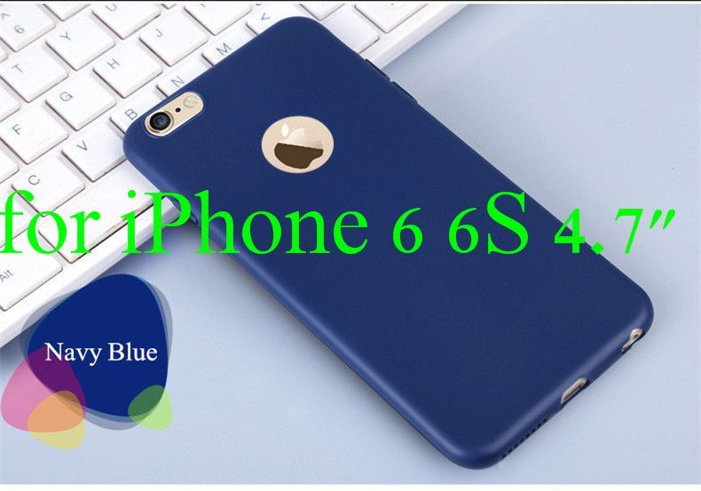 """New Luxury Ultra Slim Candy Colorful Soft TPU Silicone Case for Apple iphone 6 6S 4.7inch for iphone6 Plus 5.5"""" Phone Back Cover"""