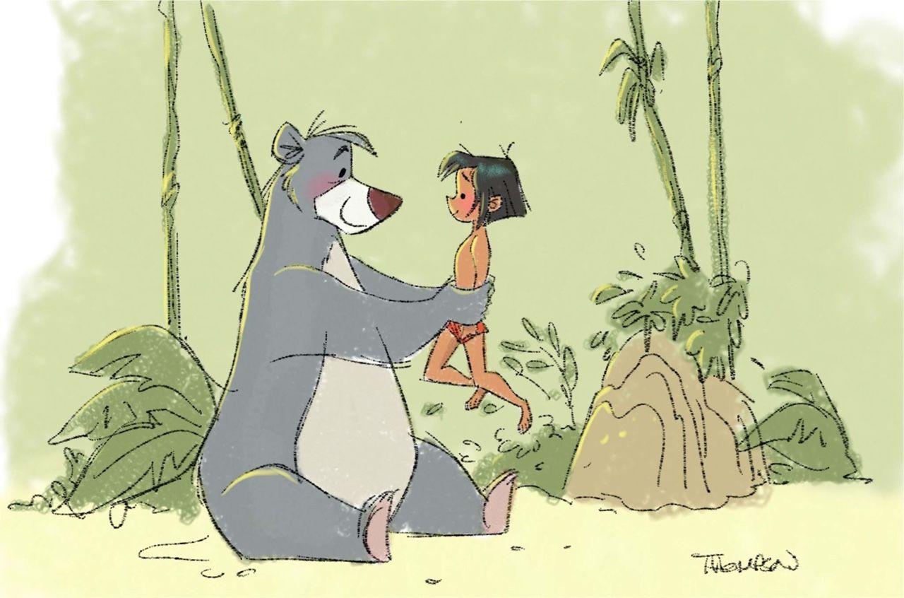 Stevethompson Art Disney Sketches Jungle Book Disney Disney Artists