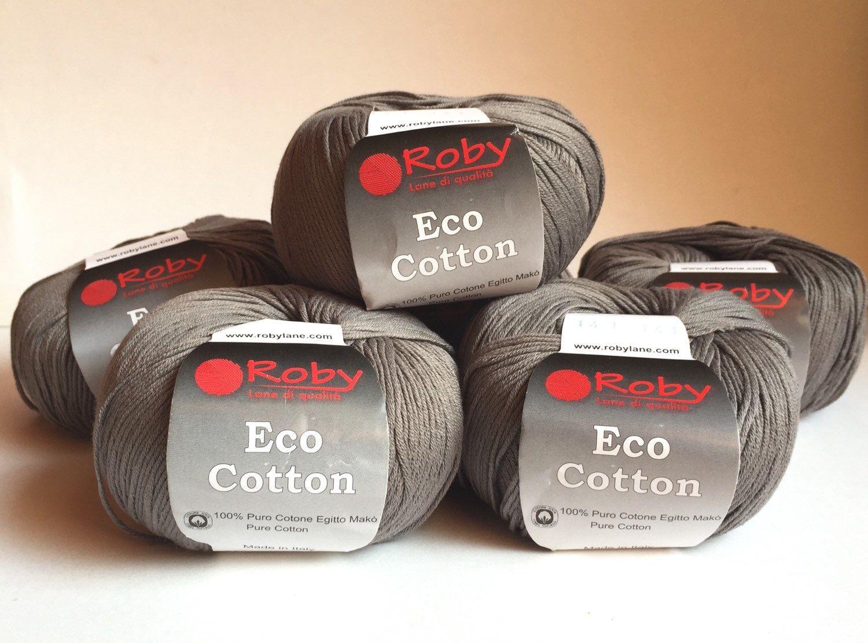 Pouf In Cotone Effetto Maglia gomitoli eco cotton di thecroknitclub su etsy https://www