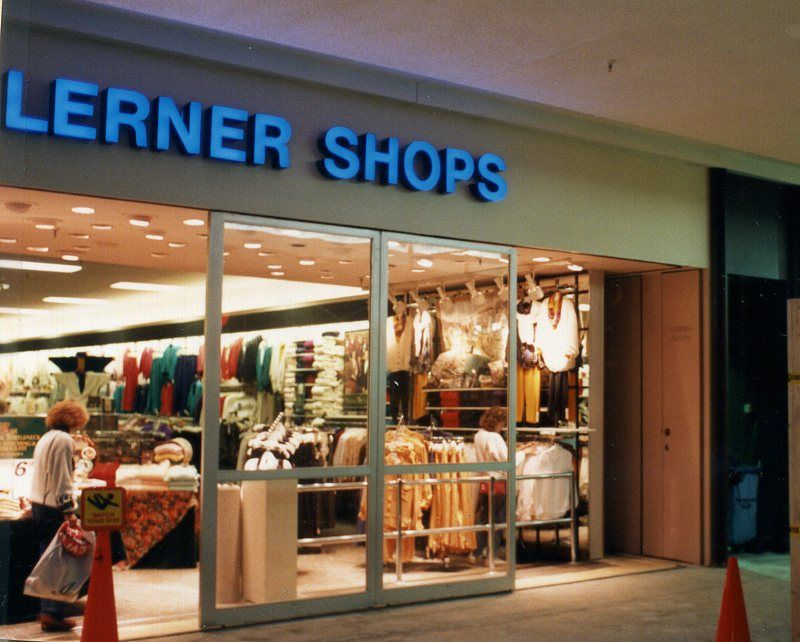 lerner store very much like stuarts dress shop where we sold
